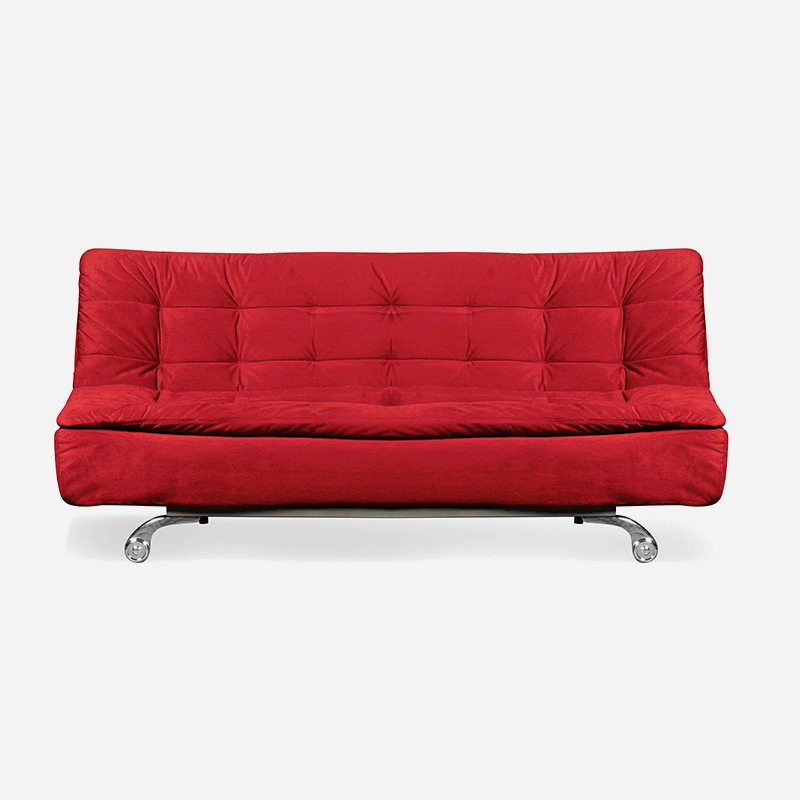 Hot Red Sofa